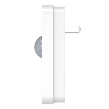 施耐德开关插座面板 家用86型 即插即用 绎尚系列红外感应灯 小夜灯 镜瓷白