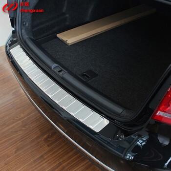 正炫 新帕萨特高尔夫新迈腾旅行版不锈钢后护板后备箱