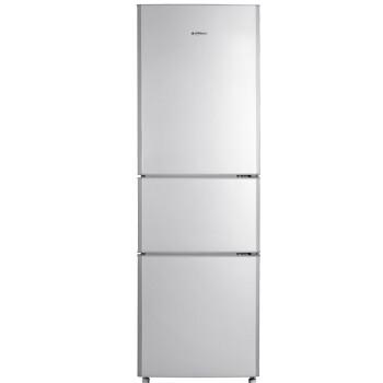 美菱(MeiLing)BCD-206L3CT 206升 三门冰箱(亚光银)