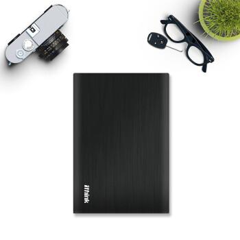 埃森客(Ithink) 2TB USB3.0 移动硬盘 朗睿系列 2.5英寸 经典黑(金属材质  高速传输)