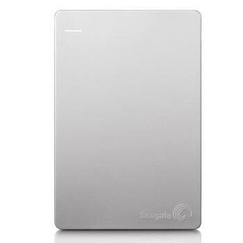 希捷(seagate)2.5英寸 睿品slim  2TB  For MAC(苹果版)便携式移动硬盘 银色 (STDS2000300)