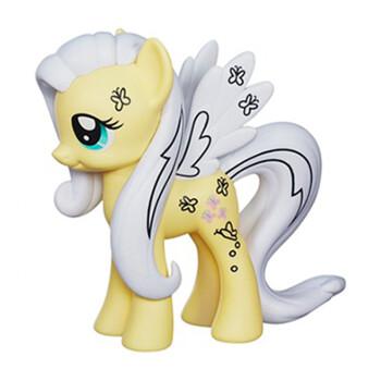 小马宝莉彩虹系列基础小马公主小马女孩玩具套装创意水晶小马柔柔a99