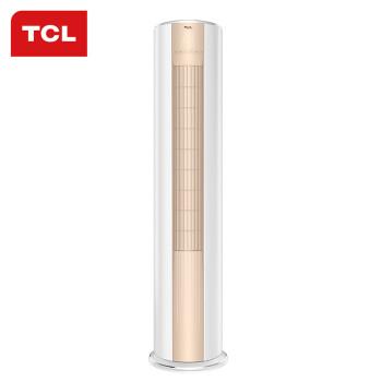 tcl 大2匹 二级能效 智能 变频 冷暖 圆柱柜式 空调柜机(kfrd-51lw/m