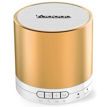 羽博 YBL202 无线蓝牙音箱 小钢炮 便携音箱 土豪金