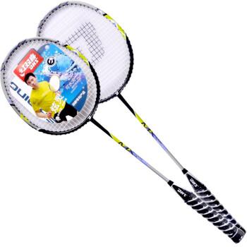 红双喜DHS E-MX204-2炫灵柄羽毛球拍2支装已穿线