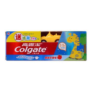 高露洁(Colgate)牙膏 儿童 牙膏 40g (2-5岁乳牙期)(苹果味) (送小礼物等随机发放)