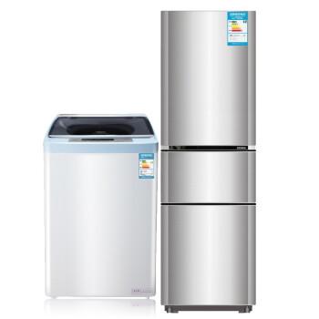 康佳(KONKA)BCD-212MTG+XQB56-712  212升+5.6公斤 冰箱洗衣机套餐