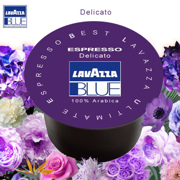 拉瓦萨Lavazza咖啡胶囊 胶囊咖啡机专用 咖啡豆研磨咖啡粉 柔香型 350粒