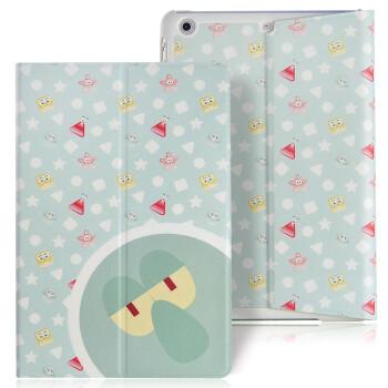 安哲(ANZO)米伽系列 苹果iPad mini1/2/3保护套 超薄双面二折皮套 平板皮套 保护壳/套 章鱼哥