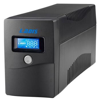 雷迪司(LADIS) H600 后备式UPS不间断电源 600VA 360W LCD汤浅电池 单电脑20分钟