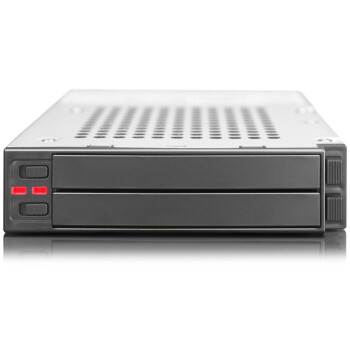 锐铵(RAIDON)iR2770 内置RAID磁盘阵列模组,3.5硬盘位转2×2.5 RAID 0/1