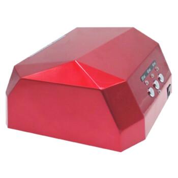 美甲光疗灯升级版带感应的钻石光疗灯36W-18W UV+LED芭比甲油胶套装光疗灯 36W大红带有感应