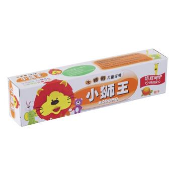 狮王(Lion)小狮王木糖醇儿童牙膏40g(桔子)