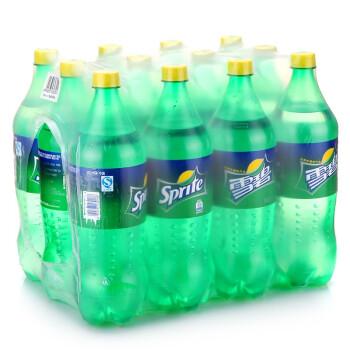 可口可乐(Coca-Cola)雪碧 1.25L*12瓶 整箱