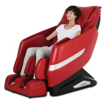 荣泰(RONGTAI)6162多功能按摩椅全身太空舱家用 酒红色