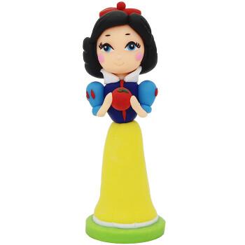 公主系列 软陶公仔 纯手工制作 儿童玩具 陶泥人 卡通