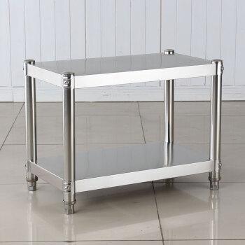 厨房厨柜置物架2层台面架灶台微波炉收纳架层架多层50