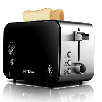 柏翠( petrus)多档位多士炉 烤面包机 面包机好拍档 PE5515