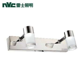 雷士(NVC)雷士照明 卫浴灯led镜前灯卧室卫生间灯化妆壁灯 5瓦   2-3平方