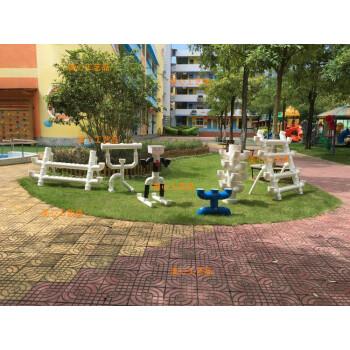 花盆花架pvc土培水管种菜幼儿园装饰花架花盆饰品 定做动物背上开孔