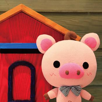 创意可爱diy布艺玩偶 小猪 手工毛绒玩具材料包送闺蜜