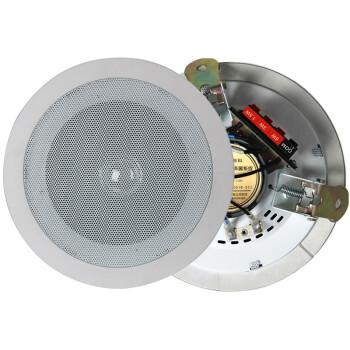 新科(Shinco)L02A 定压吸顶音响 家庭会议天花背景音乐喇叭