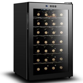 凡萨帝(FASATO) FST28 电子恒温半导体红酒柜 金属层架