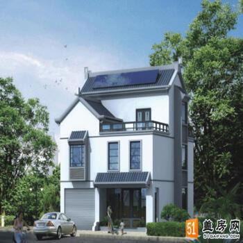 适合农村小地基二层建房设计图 7x10别墅设计图纸自建房设计