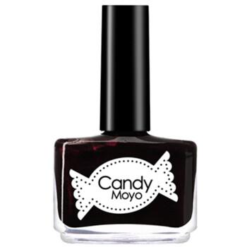 膜玉(Candymoyo)指甲油黑樱桃8ml(法国原料 快干不易脱色 酱紫色暗红紫红色 珠光)