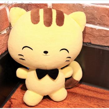 创新手工猫布艺自制作娃娃玩偶 简单diy材料包男友礼物布艺玩偶可爱有