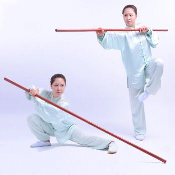 坤甸木红木棍武术棍少林棍长棍木杆南棍六点半棍 长1.6米,直径4.0cm图片