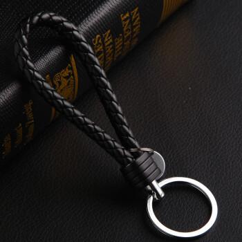 汽车钥匙扣钥匙链金属挂件装饰品车用钥匙链 汽车钥匙装饰钥匙编织绳