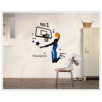 淘工场科比篮球墙贴卧室墙面装饰品家居饰品墙饰墙花装饰贴