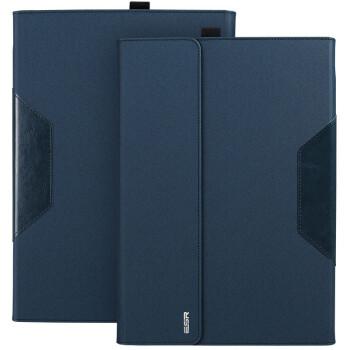 亿色(ESR)睿致系列 Surface Pro 3保护套/支架皮套 Pro3包/套 适用于微软Surface Pro3 12英寸 深邃蓝