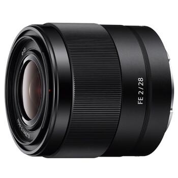 索尼(SONY)FE 28mm F2 全画幅广角定焦微单镜头 (SEL28F20)
