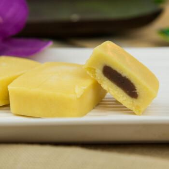 超比 纯橄榄油制作/低糖/红豆馅/绿豆糕/茶点/台湾进口/冰心/绿豆皇 2