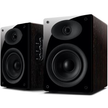 惠威(Hivi)多媒体音箱 D1010 MKII 2.0声道 玫瑰木色
