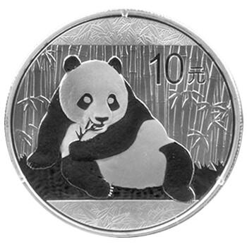 中国金币(china gold coin)2015年熊猫1盎司银币