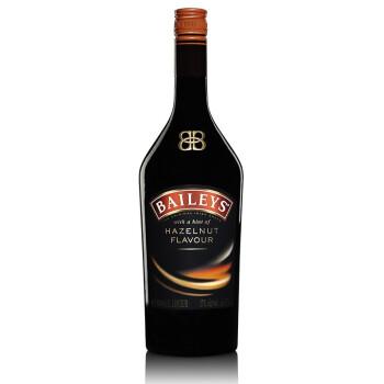 百利(Baileys)百利榛果味甜酒1000ml