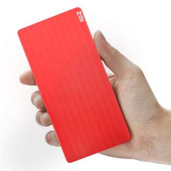 ZMI 10000毫安 聚合物 PB810 移动电源/充电宝 红色 手机平板通用