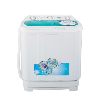 韩电(KEG)XPB70-96J 7公斤 双筒双缸 半自动洗衣机(蓝色记忆)