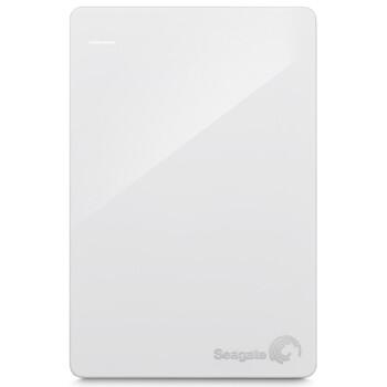 希捷(Seagate)2.5英寸 Backup Plus睿品 1T USB3.0移动硬盘 限量白色版( STDR1000307)
