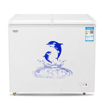 澳柯玛(AUCMA)BC/BD-216NE 216升卧式大冷冻柜 蝶形门商用冷柜 冷冻冷藏转换变温冷柜,降价幅度5%