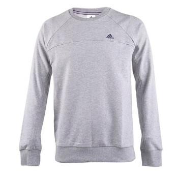 阿迪达斯男装 运动套头衫卫衣X20821 X20819 G70257 S17670 DF 灰色Z30328 L/180/100