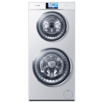 卡萨帝(Casarte)C8 U12W1  12公斤 全自动滚筒洗衣机 双子云裳双筒洗 智能WIFI(奢华白)