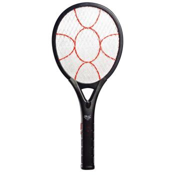 雅格 充电电蚊拍 灭蚊器LED灯 多功能安全灭 蚊苍蝇拍驱蚊拍 5610黑色