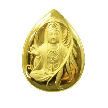 中国金币河南钱币 滴水观音金章 10克