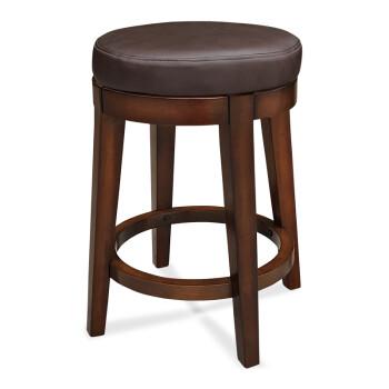 吧椅美式吧台椅圆形椅子厚垫家用酒吧椅吧台凳高脚凳x 550坐高无靠背