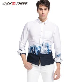 杰克琼斯短袖衬衣男