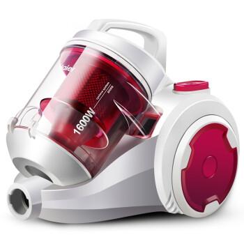 海尔(Haier)吸尘器 ZW1608F 家用 静音无耗材 强力除螨